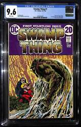 Swamp Thing 1 Cgc 9.6 Origin Of Swamp Thing 1st Appearance Of Lt. Matt Cable