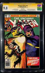 Uncanny X-men 142 Cgc 9.8 Signature Series Signed By Chris Claremont And Stan Lee