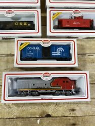 Lot Of 8 Model Power Ho Scale Trains