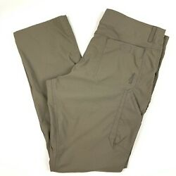 Kuhl Renegade Pants Mens Size 38 X 34 Light Olive Green Outdoor Stretch Hiking