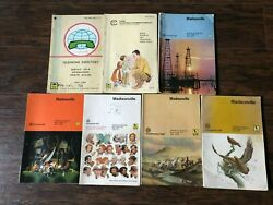 Lot Of 7vintage Madisonville Texas And More Telephone Directories/books Code 713