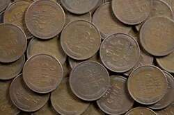 Treasure Hunt Time - Old Coins Free Ship 5000 Not Searched Lincoln Wheat Cents