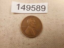 1911 S Lincoln Wheat Cent - Nice Collector Grade Unslabbed Album Coin - 149589