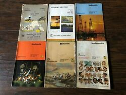 Lot Of 6vintage Madisonville Texas And More Telephone Directories/books Code 713