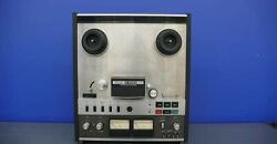 Teac Open Reel Deck A-6300 Mkii Ac100v Working Properly C3240