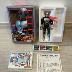 Popy Chogokin Masked Rider Super 1 Action Figure With Box Vintage Toy Tracking