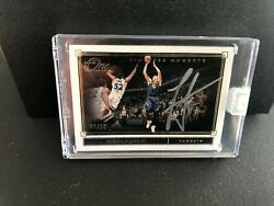 Nikola Jokic Timeless Moments One And One Gold Ssp Auto 7/10 Autograph Mvp