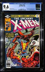 X-men 129 Cgc 9.6 1st Appearance Of Kitty Pryde, The White Queen And Sebastian Sh