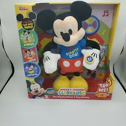 Disney Junior Mickey Mouse Clubhouse Hot Diggity Dance And Play Mickey New In Box