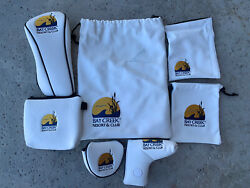 Bay Creek Resort And Club Putter Covers, Shoe Bag, Accessories Bags, Driver Cover