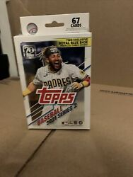 2021 Topps Series 2 Baseball Hanger Box Factory-sealed In Hand/67cards Per Box