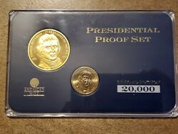 Thomas Jefferson Presidential Proof Set Limited Edition American Mint 01943 Coa
