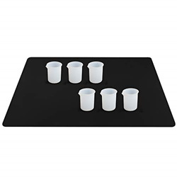Silicone Mat and Cups for Resin Gartful Resin Tools Kit Including 1PCS Extra of