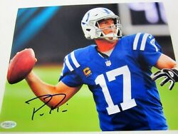 Phillip Rivers Indianapolis Colts Signed Autographed 8x10 Photo