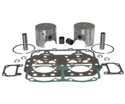Wsm 010-832-23p Platinum Series Top End Kit - 0.75mm Oversized To 81.75mm Bore