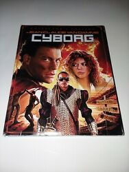 Cyborg Blu-ray Collectorand039s Edition Jean-claude Van Damme With Slipcover
