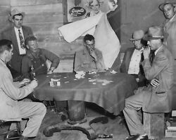 Poker Game Grapette Soda Sign In Background Vintage 8x10 Reprint Of Old Photo
