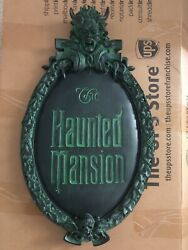 Disney The Haunted Mansion Gate Plaque Sign Full Size Replica