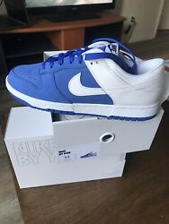 """Nike Dunk Low By You 365 Blue/white """"kentucky"""" Size Us 9.5m. Brand New Ds."""