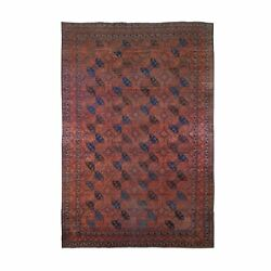 10and0394x15and0396 Antique Afghan Bechar Xl Worn Down But Clean Pure Wool Rug G66786