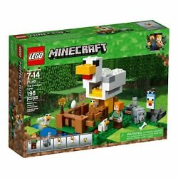 LEGO 21140 MINECRAFT The Chicken Coop NEW NISB RETIRED FREE SHIPPING