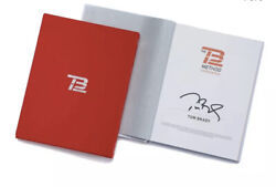 New Sealed Tom Brady Hand Signed Tb12 Method Book / Only 1600 Copies Sold Out