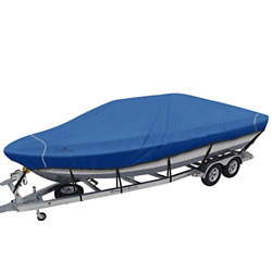 Explore Land Trailerable Waterproof Boat Cover Fits 20and039-21and039long Beam Width Up To