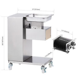 500kg 110v Meat Slicer Meat Cut Cutting Machine Cutter With One Set Blade