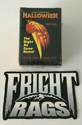 Fright Rags Halloween Complete Trading Card Set-factory Sealed