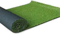 Griclner Artificial Grass Lawn Turf 0.8inch Realistic Synthetic Grass Mat Indoo