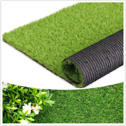 Artificial Grass Thick Turf 1.38 Custom Sizes Multi-use Fake Pet Grass Indoor