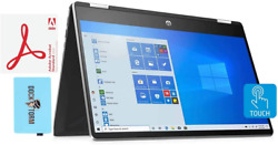 Hp 14-dh2011nr-11gen Home And Business Laptop 2-in-1 I5-1135g7 4-core, 16gb Ra