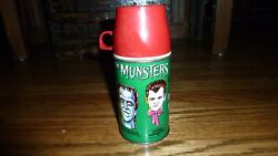 The Munsters Thermos Metal Vintage Rare Lunchbox Kayro-vue