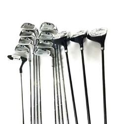 Cougar X-cat Ii Mens Blue/black Right Handed Complete Set Golf Clubs