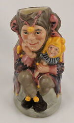 Royal Doulton Character Toby Jug The Jester D6910 Limited Edition 750 5 Medium