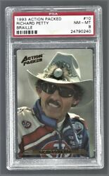 1993 Action Packed Braille Richard Petty Nascar Racing 10 Psa 8 24790240