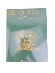 Queen The Bass Guitar Collection Bass Recorded Versions Music Songbook