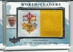 Decision 2020 Series 2 World Leaders Pope Francis Flag Patch