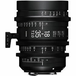 Sigma Cine 18-35mm T2 High-speed Lens For Sony E-mount Fair Condition