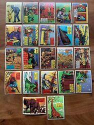 1957 Topps Gee Whiz Quiz Isolation Booth Complete Vintage 88 Card Set