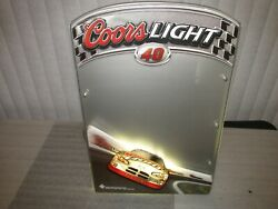 Coors Light Nascar Sign Lighted 40 Sterling Marlin 2004 Message Board Rare