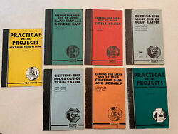 Rare 7 Delta Tools Books 1937 Lathe Saw Getting The Most Out How To Projects