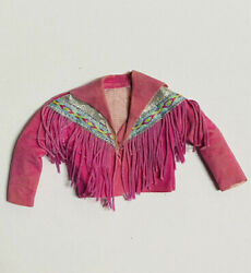 """60's 80's Inspired Doll Dress- Handmade Clothes For Doll 8"""" - 10"""" Size Cowgirl"""