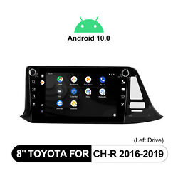 8 Android 10 1din For Toyota Ch-r Navigation Gps Built-in Dsp 4+64g Bluetooth