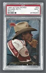 1993 Action Packed Braille Richard Petty Nascar Racing 75 Psa 9 24790243
