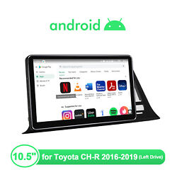 10.5 Android 10 1 Din Built-in Dsp Navi Gps 4+64g Hd Ips Scren For Toyota Ch-r