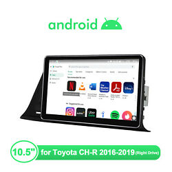 10.5 Android 10 1din Touchscreen Ips Screen Navi Gps Dsp For Toyota Ch-r 16-19