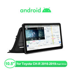 Joying 10.5 Inch Android 10 1din For Toyota Ch-r 2016-2019 4+64g Dsp Navi Gps