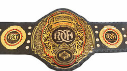Ring Of Honor Heavyweight Wrestling Championship Leather Belt Replica Adult Size