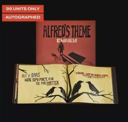 Eminem Alfred Theme Lyric Book Autographed Limited Edition 99 Pieces Sold Out